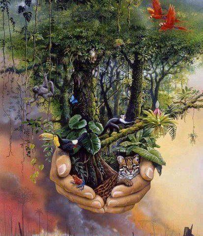 Cuidemos el planeta y todos los seres que lo habitan