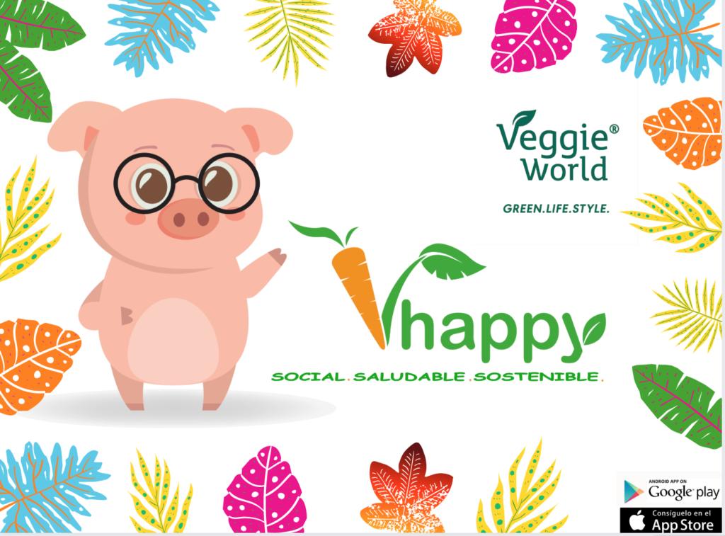 Vhappy estará en Veggie World Barcelona del 5 al 6 de octubre de 2019