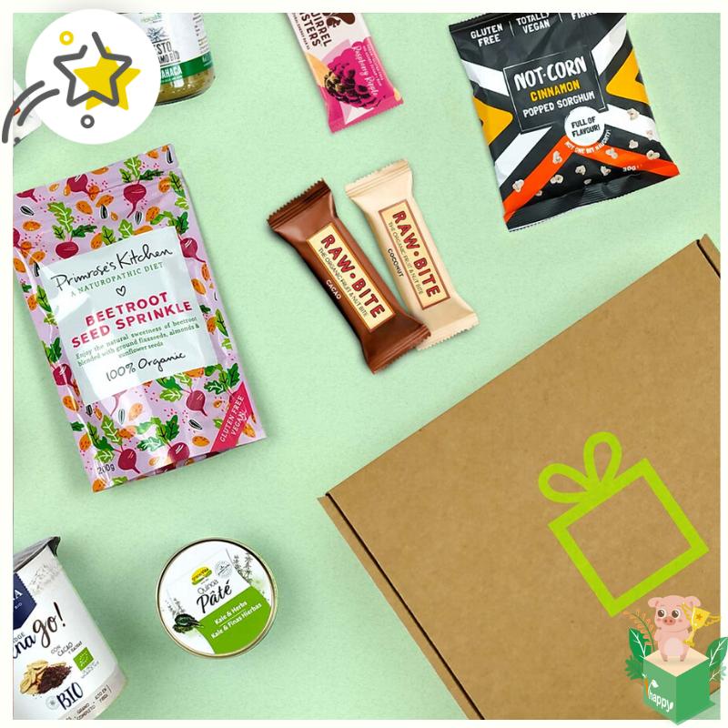 Iupibox cajitas Veganas