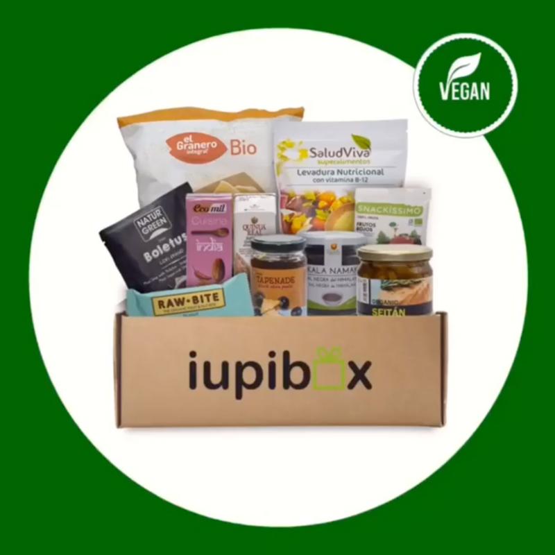 Iupibox  cajitas veganas  Estrella del mes VHappy