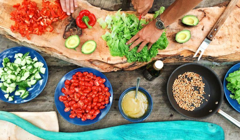 cocinar recetas veganas con proteinas