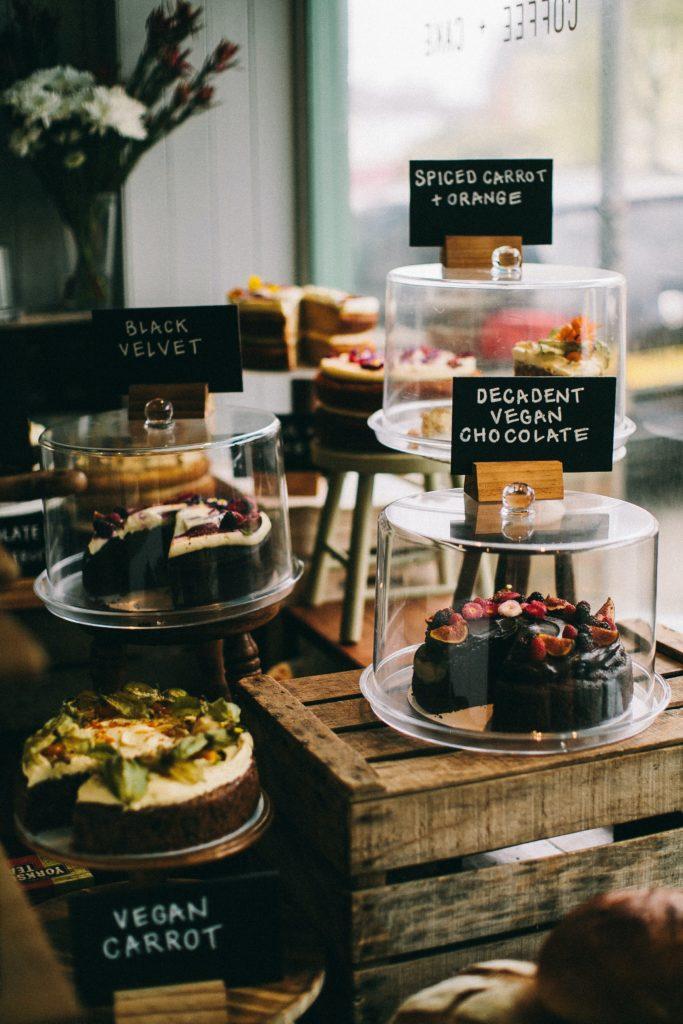 Dulces Veganos Cafetería Londres