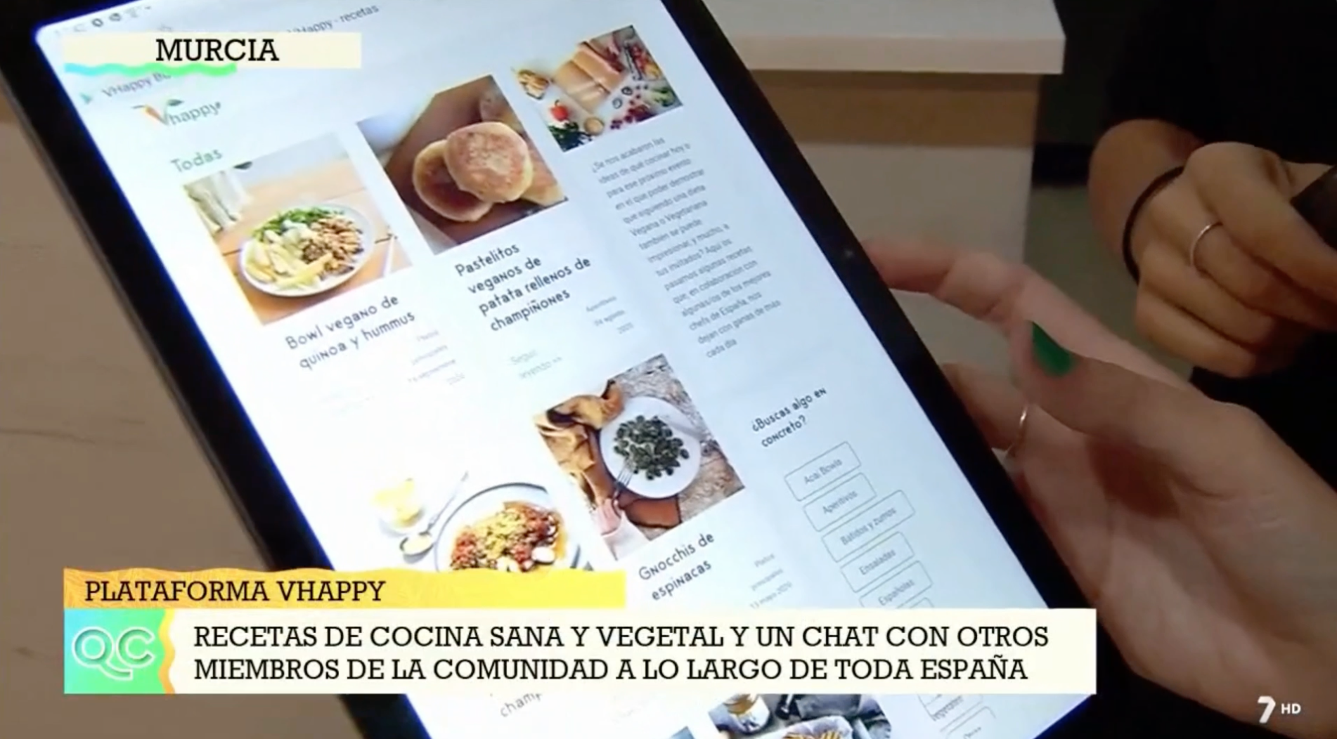 VHappy: App para encontrar restaurantes veganos en toda España