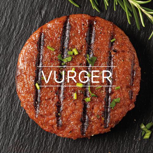 Hamburguesas y nuggets veganos