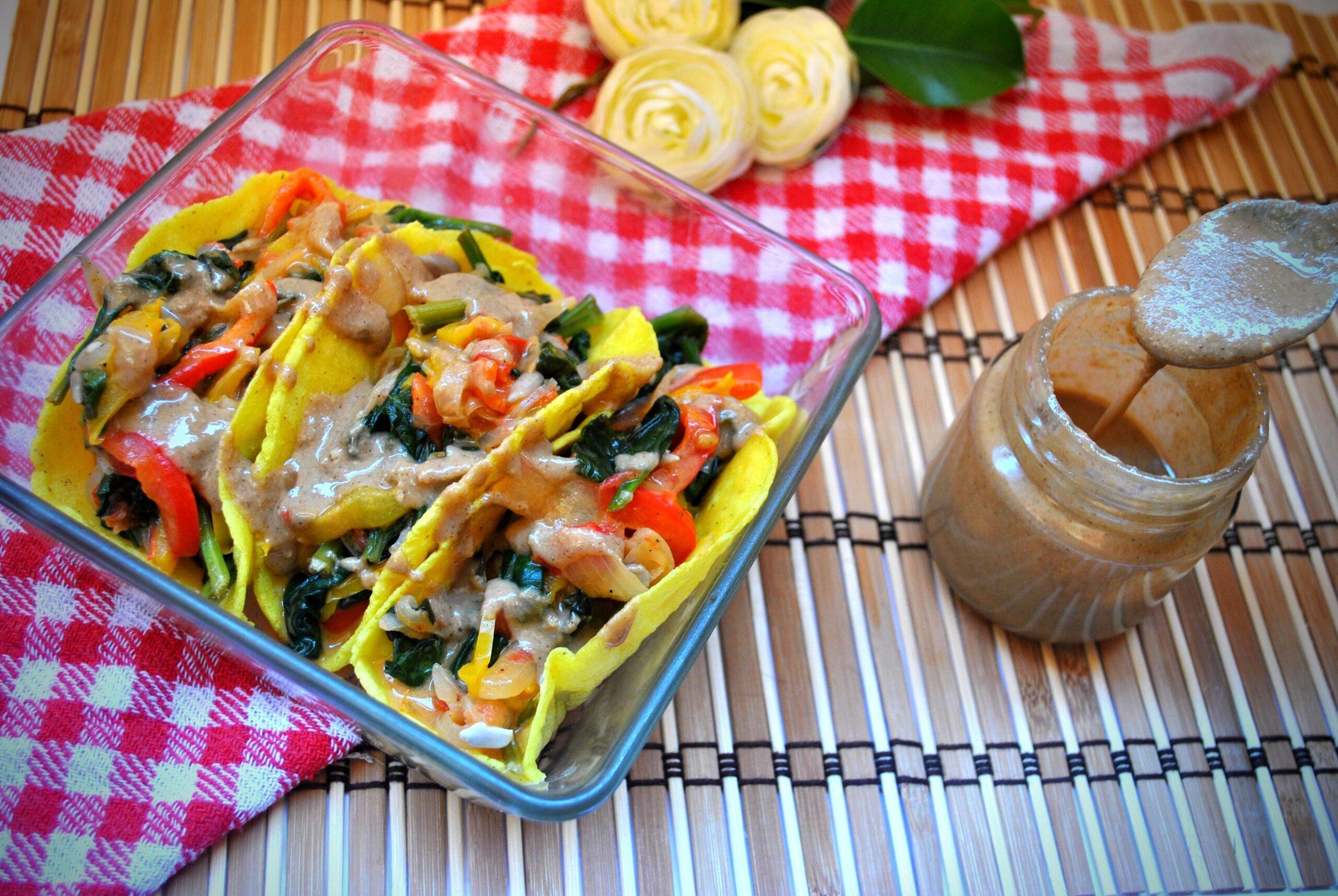 receta vegana tacos